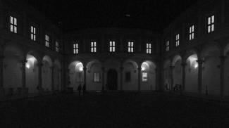 Il Cortile d'onore del Palazzo Ducale d'Urbino