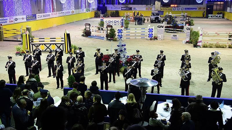 l'esibizione della Fanfara della Scuola Marescialli Brigadieri di Firenze ©AMontalti