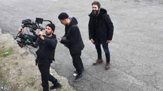 """Il backstage del nuovo video di Rkomi: """"Fuck Tomorrow"""" (Ph Antonio Ragni)"""
