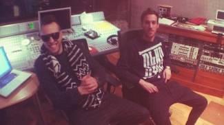 Zef e dj Shablo in studio