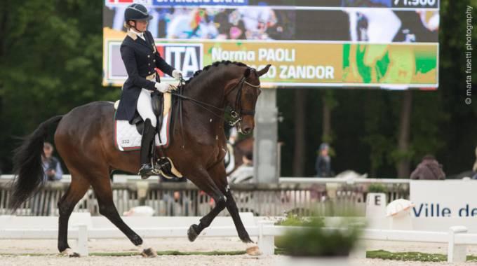 Norma Paoli del Team Equitago vince e convince in Francia © Imm. Archivio MF