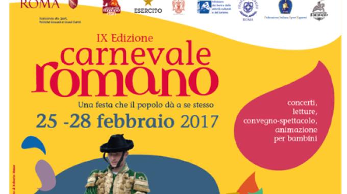 Tornano il Carnevale Romano e i suoi cavalli