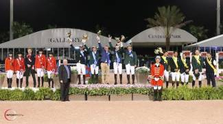 Ireland wins FEI Nations Cup in Wellington