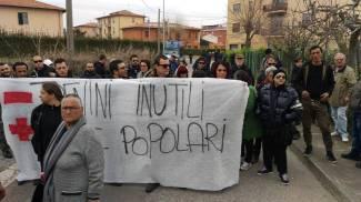 La protesta contro il People Mover