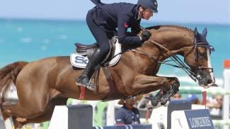 Italian star Lorenzo de Luca turns up the heat at LGCT Miami Beach