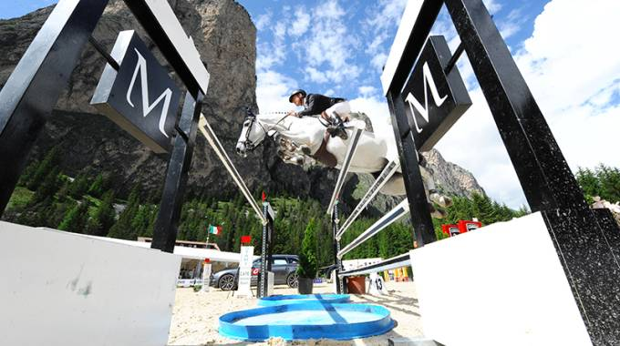 Salto Ostacoli: al via la seconda edizione Dolomites Horse Show © DHS/MVillanti