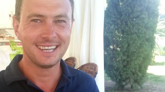 Un sorridente Massimiliano Ferrario (ph. UM)