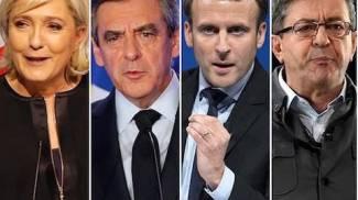 I principali candidati alle presidenziali francesi (Dire)