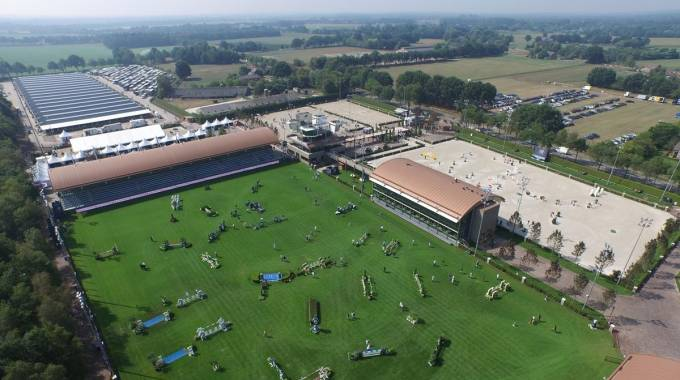 Una panoramica della Tops Arena a Valkenswaard (ph. Sportfot)