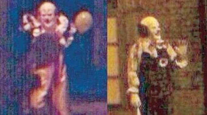Alcune foto di avvistamento di clown che girano sul web