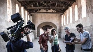 Al via le riprese di 'Made in Italy', terzo film di Luciano Ligabue (Ansa)