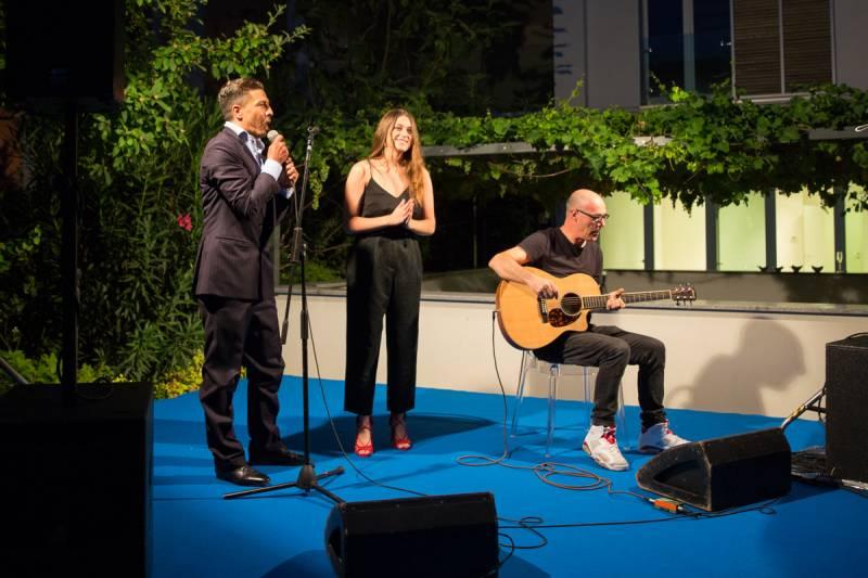 Luca Panerai, Gaia Gozzi e Fausto Cogliati © CHT