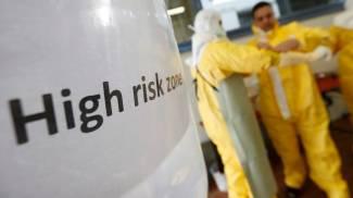 Ebola, esercitazioni della Croce Rossa in Germania (Reuters)