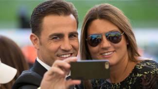 Fabio Cannavaro e la moglie (OLycom)