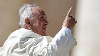 Papa Francesco (Afp)