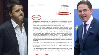COMBO: Renzi, la lettera Ue e Katainen