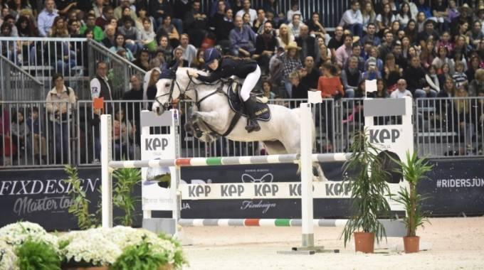 Bianca Gazze Salto Ostacoli Pony Fieracavalli Verona (Foto: Fise)