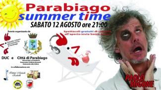 Paolo Migone a Parabiago