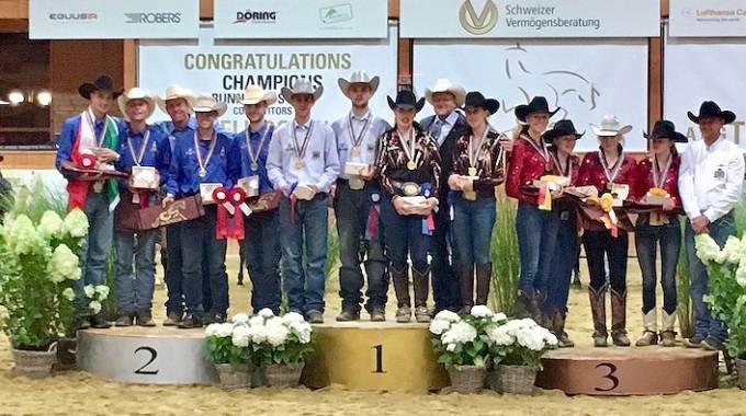 Sport Equestri: per l'Italia Young Riders del Reining argento mondiale ©Fise