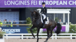 Longines FEI European Championship: Germany takes the early lead in dressage