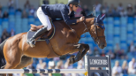 Sweden's Fredricson wins thrilling jumping opener while Swiss take the lead in team
