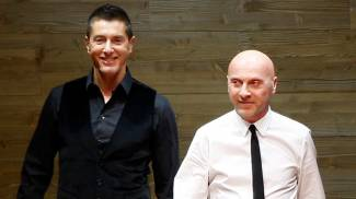 Domenico Dolce e Stefano Gabbana (Ap)