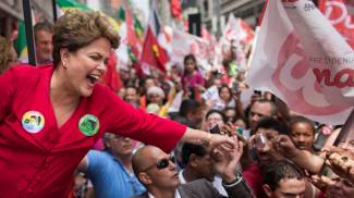 Dilma Rousseff, presidente del Brasile (Ap)