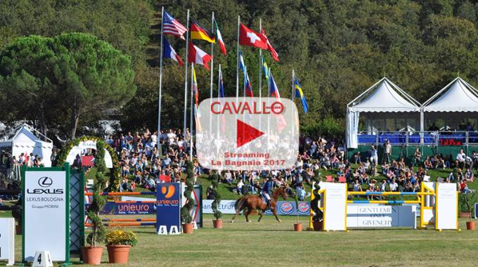 Streaming: La Bagnaia Show Jumping 2017