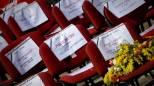 I nomi delle donne vittime di femminicidio (Ansa)