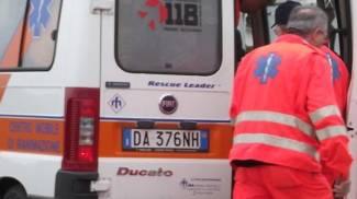 I soccorsi di un'ambulanza