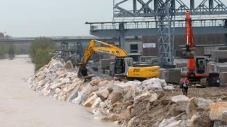 I lavori sul carrione, dubito dopo l'alluvione