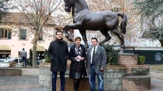 A Milano con il cavallo di Leonardo. La Toscana galoppa verso l'Expo - La Nazione