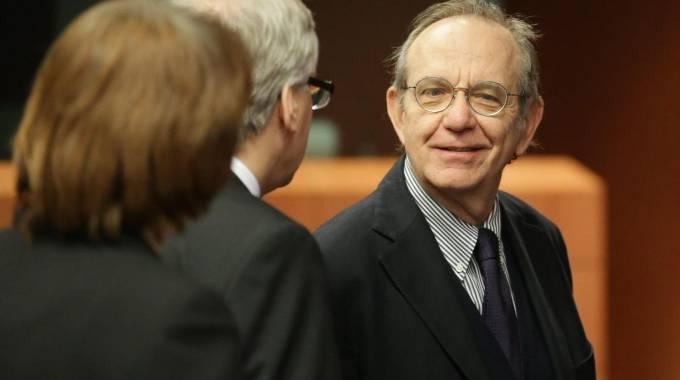 Il ministro dell'Economia Pier Carlo Padoan (Ansa)