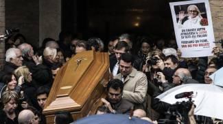 Virna Lisi, i funerali (Ansa)