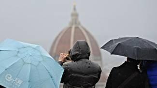 Firenze, allerta pioggia: dalla mezzanotte di venerdì per 24 ore