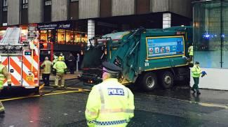 Glasgow, camion sulla folla: strage (Afp)