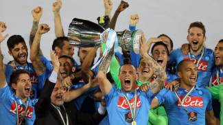 Il Napoli conquista la Supercoppa Italiana (Afp)