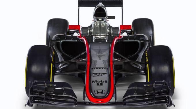 McLaren, ecco la MP4-30 spinta dal motore Honda