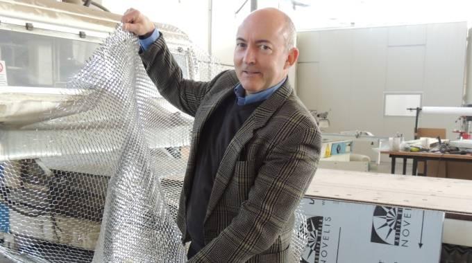Andrea Vacchi Suzzi è general manager dell'azienda, nata a Bologna e trasferitasi a Villanova