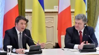 """Blitz di Renzi a Kiev e Mosca. """"Rispettare sovranità Ucraina"""". Italia-Russia? Interessi comuni"""