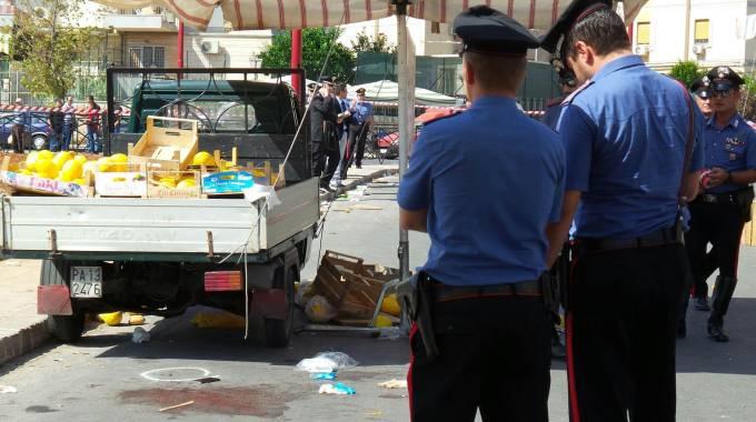 Palermo ambulante ucciso al mercato arrestate cinque for Nazione di firenze