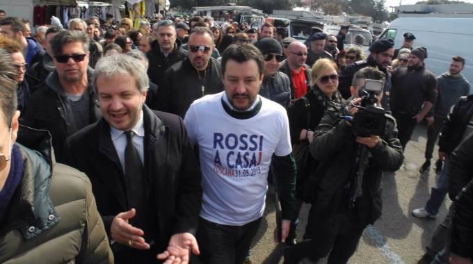 Salvini al mercato di prato basta svendere il made in for Mercato prato