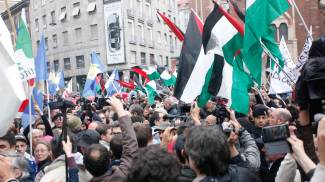 """25 aprile,  Mattarella: """"Lotta alla corruzione"""". Milano, insulti alla Brigata ebraica"""
