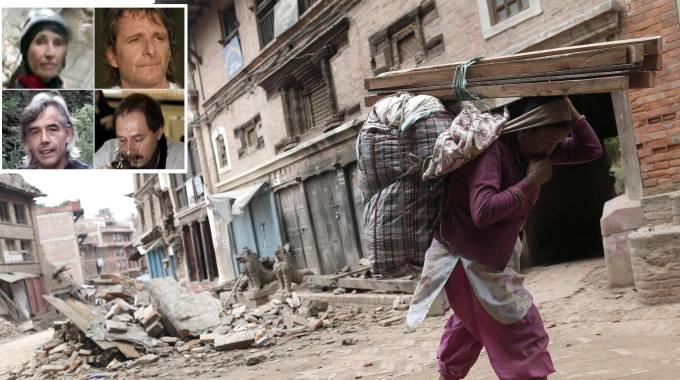 """Nepal, premier: """"Temo 10mila vittime"""". Farnesina: 4 italiani morti, 18 rintracciati e 40 irreperibili / FOTO"""